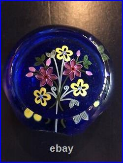Perthshire 1991 E Boquet Weight Paperweight New In Box