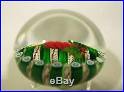 Perthshire Christmas Candle Paperweight