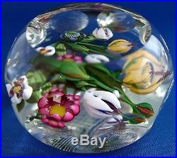 Perthshire Floral Paperweight