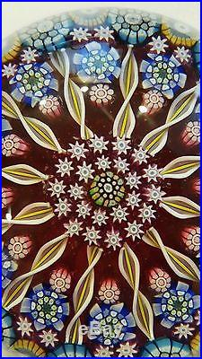 Perthshire Glass Art Paperweight, 1998 Millefiori GORGEOUS