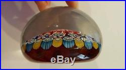 Perthshire Glass Art Paperweight #PP175, 1998 Millefiori GORGEOUS