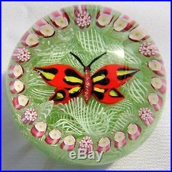Perthshire, John Deacons, Schmetterling, Butterfly, Paperweight, Briefbeschwerer