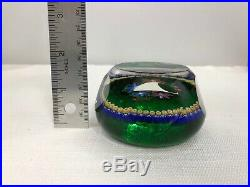 Perthshire Millefiori Floral Paperweight 1999 Limited Edition Numbered/Signed