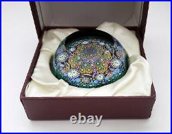 Perthshire PP129A Limited Edition Paperweight, with Original Box & Certificate