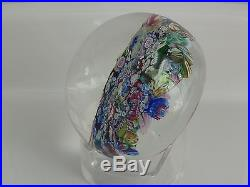 Perthshire PP19 1972 Scrambled or End of Day Paperweight Limited Edition EC