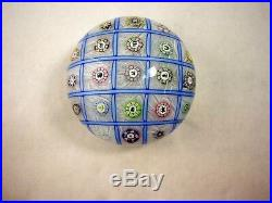 Perthshire Paperweight Chequerboard Weight 1991 228/350 New Box Extremely Rare