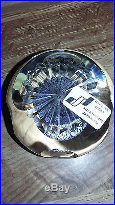 Perthshire Paperweight, Millifiori Mushroom Closepack WithPictureCanes. StarcutBase
