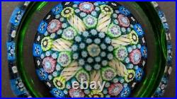 Perthshire Paperweight PP167 1995 Complex Millefiori Paperweight LE EC