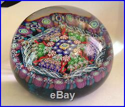 Perthshire Paperweight PP95 1987 Large 3 1/4