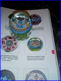 Perthshire Paperweights One Of A Kind Millefiori Paperweight