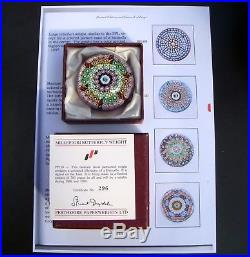 Perthshire Sammlung, 1989 Butterfly Paperweight, Briefbeschwerer