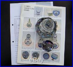Perthshire Sammlung, 1990 Flakon Paperweight, Briefbeschwerer