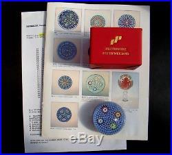 Perthshire Sammlung, 1992 Paperweight Spielkarten, Briefbeschwerer