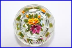 Perthshire Three Dimensional Bouquet Paperweight