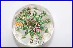 Perthshire Three-dimensional Bouquet Paperweight