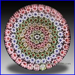 Perthshire colorful close concentric millefiori paperweight Scotland