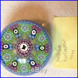 Perthshire paperweight with Texas center