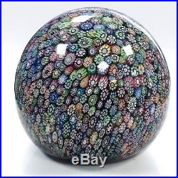 Peter McDougall Perthshire 2001 magnum ball paperweight 12/30 744