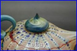 RICHARD Australian Clements Art Glass Paperweight/Kettle/Teapot, Apr 3Hx4.5W