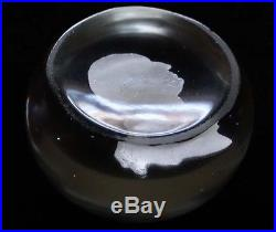 Rare 19thC. CLICHY French Sulphide Paperweight GEORGE WASHINGTON (profile)