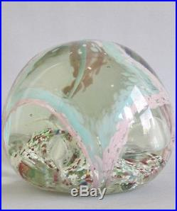 Rare & Large 9 lbs. English Victorian Art Glass Doorstop c. 1880 paperweight