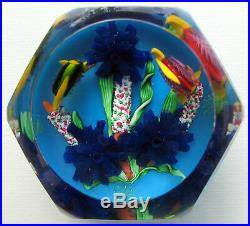 Rare Modern Saint Louis Rivages 1998 Paperweight