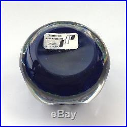 Rare Perthshire Crieff Gas Light millefiori glass paperweight / presse papiers