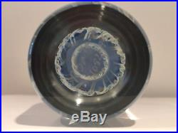 Richard Satava Art Glass Jelly Fish Paperweight Signed Numbered Dated 1995