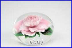 Rick Ayotte Signed Glass Paperweight M-36 1991 2.1