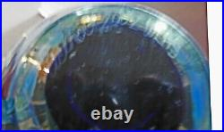Robert Eickholt Paperweight WLAS 2002. Measures approx. 5 high x 5 wide