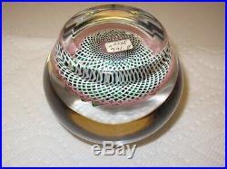 SAINT ST. LOUIS PAPERWEIGHT MAGNUM 1990 Ltd. Ed. Of 25 Crocus Basket Ret. $2750