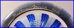STUNNING NEW DAMON MacNAUGHT CLOSEPACKED Millefiori ArtGlass PAPERWEIGHT &Signed