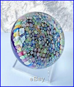 SUPERB Perthshire Millefiori Closepack paperweight, limited edition 1973