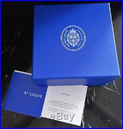 Saint-Louis Kristall Paperweight Presse Papier SIGNE Zodiac 2016 Briefbeschwerer