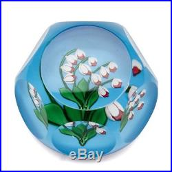 Saint Louis Ltd Edn Lilies Of The Valley Paperweight 1986