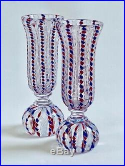 Saint Louis Paperweight Vase Shaped Limited Edition Fabulous Decor