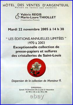 Saint Louis Tut anch amun Paperweight