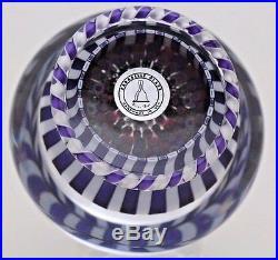 Spectacular PARABELLE Millefiori STAVE Peidouche BASKET Art Glass PAPERWEIGHT