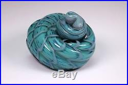 Studio Art Glass Ocean Shell Paperweight Signed Cohn-Stone 1995