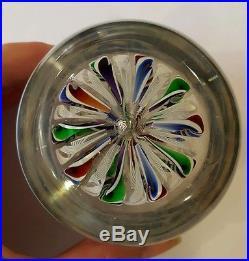 TWO John Decons JHD Art Glass Paperweights, 1995