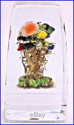 Tall PHENOMENAL Paul STANKARD Floral BOUQUET Root Spirits SPIDER Glass SCULPTURE