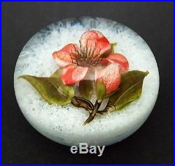 Trabucco'Scarlet Blossom' Paperweight