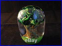 Tree of Life Paperweight Glass Eye Studio Environmental Series 605 New Made USA