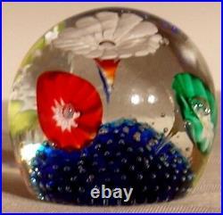 Venetian Murano glass Fratelli Toso Paperweight