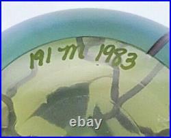 Vintage 1983 Orient & Flume Bird on Cherry Blossom Branch 3 1/4 FREE SHIPPING