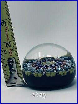 Vintage Art Glass Perthshire Paperweight Millefiori