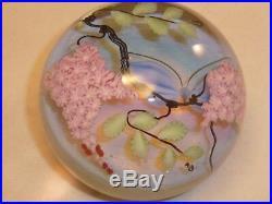 Vintage D. Salazar Butterfly Paperweight Lundberg Studios 1982 150/200 LIM Ed