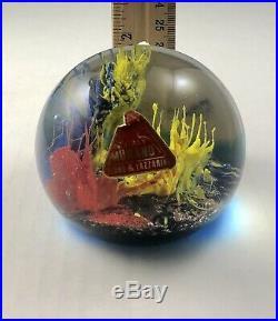Vintage FERRO & Lazzarini Murano Art Glass Paperweight Free Shipping