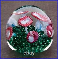Vintage Murano Glass Paperweight Made In Italy