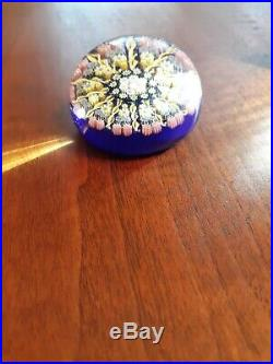 Vintage Perthshire Millefiori Paperweight Canes & Twists P Center Cane Exc